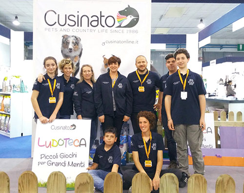 Cusinato Staff in Fiera